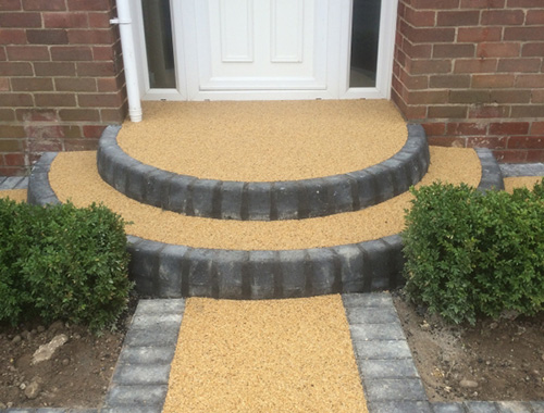 Resin Bounch Porch Surface